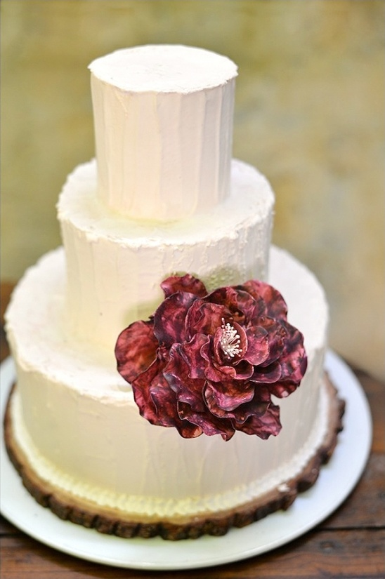 sugar flower cake decoration