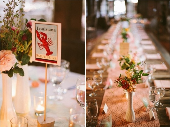 state inspired table numbers