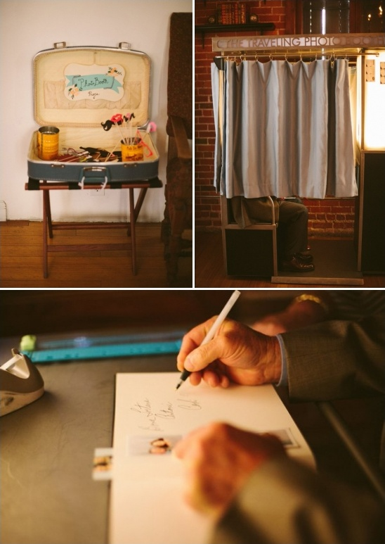 photobooth guestbook ideas