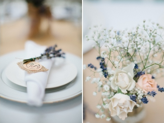 lavender and peach wedding ideas