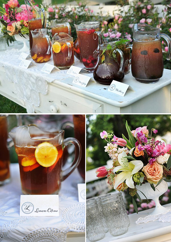 ice tea station