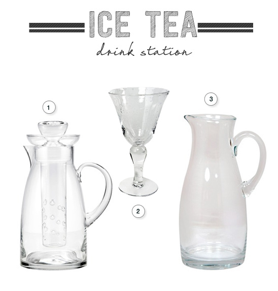 ice tea station ideas