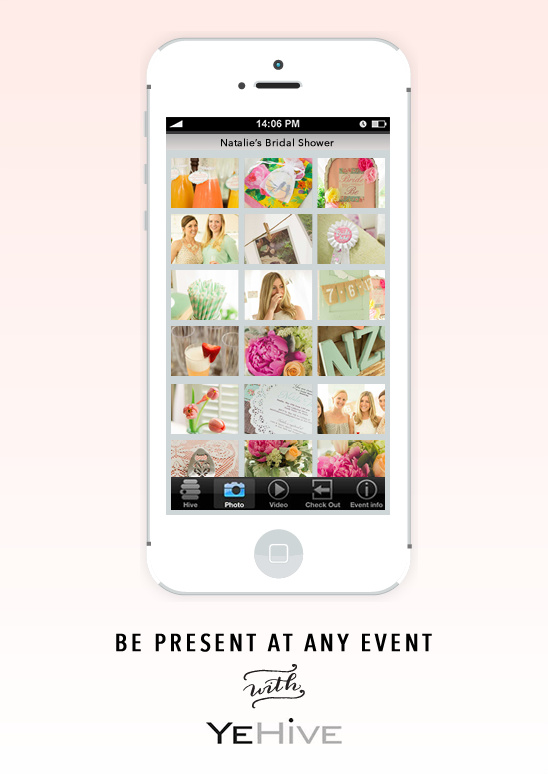 be present at any event with the Yehive app