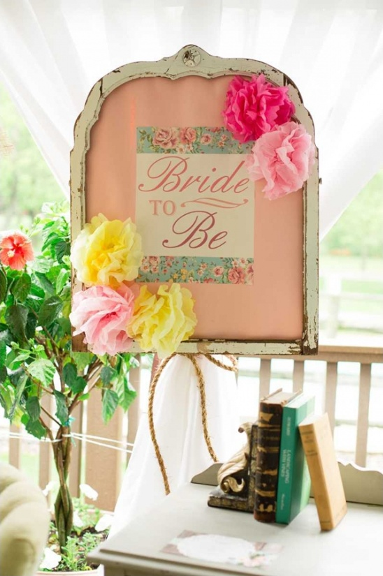 Charmant Bridal Shower Ideas. Bride To Be Sign