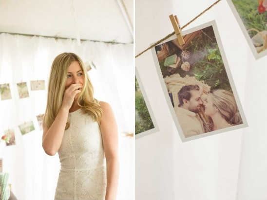clothesline photo display ideas