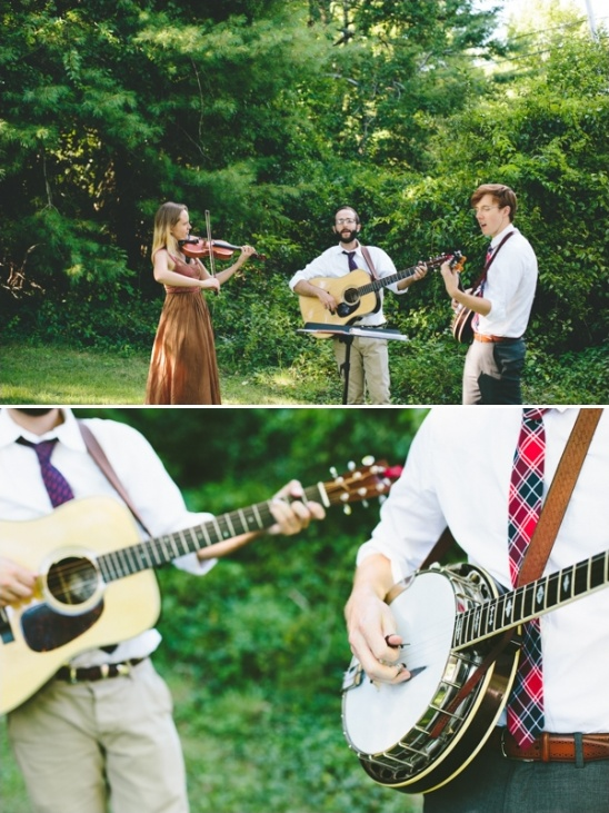 have a banjo at your wedding