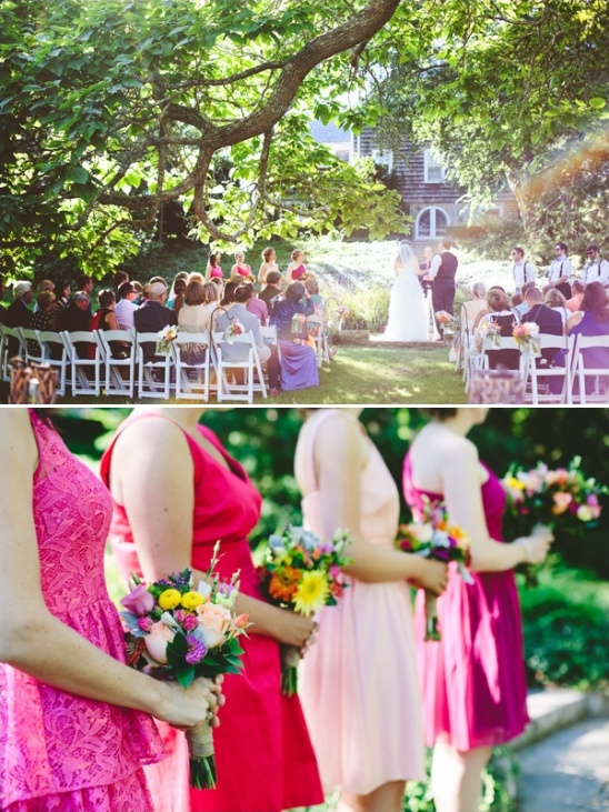 cape code garden wedding