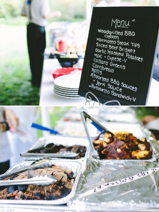 fun catering menu by redbones