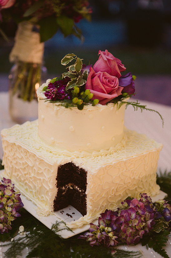 wedding cake with bright florals by nutcracker sweet shoppe
