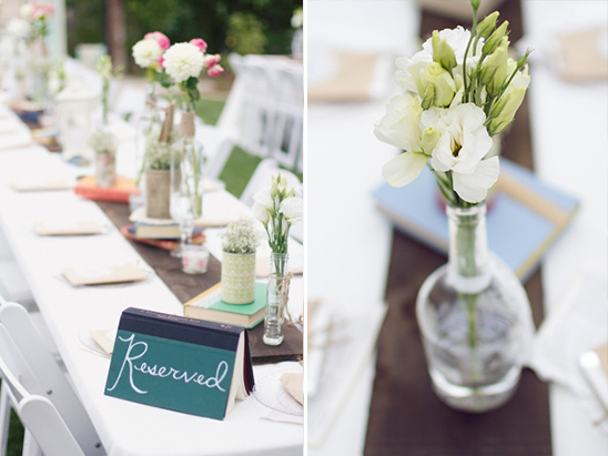 whimsical reception decor