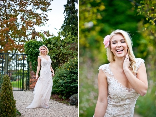soft romantic bridal looks