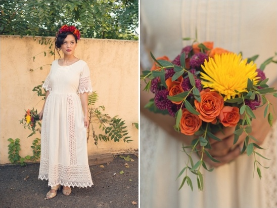 Mexican inspired bridal looks