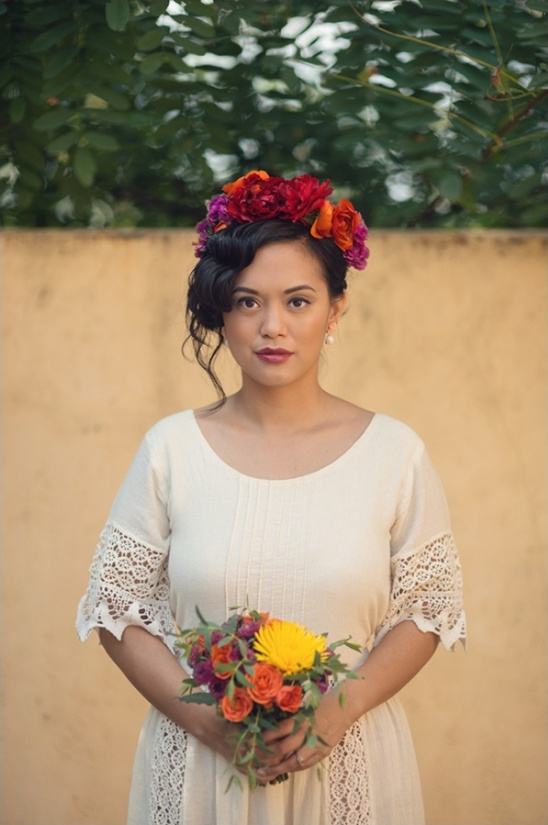 Mexican inspired bride