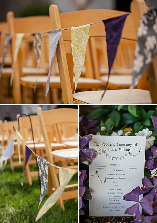 diy wedding ceremony decor