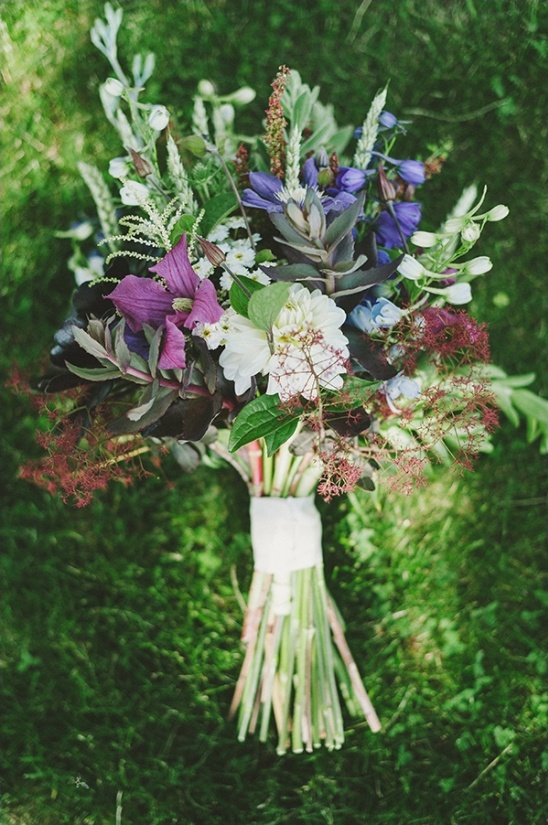 wedding bouquet by plenty of posies