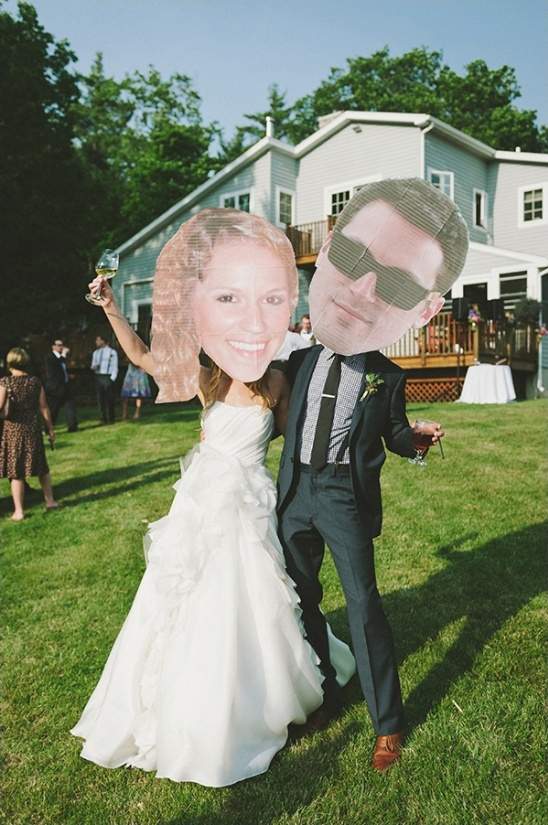 fun wedding cut outs