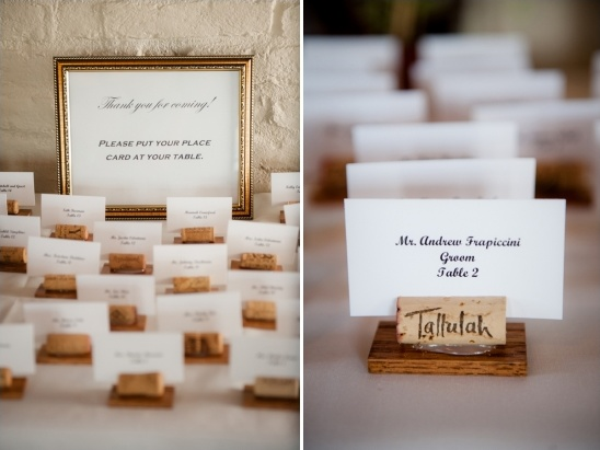 wedding escort card ideas