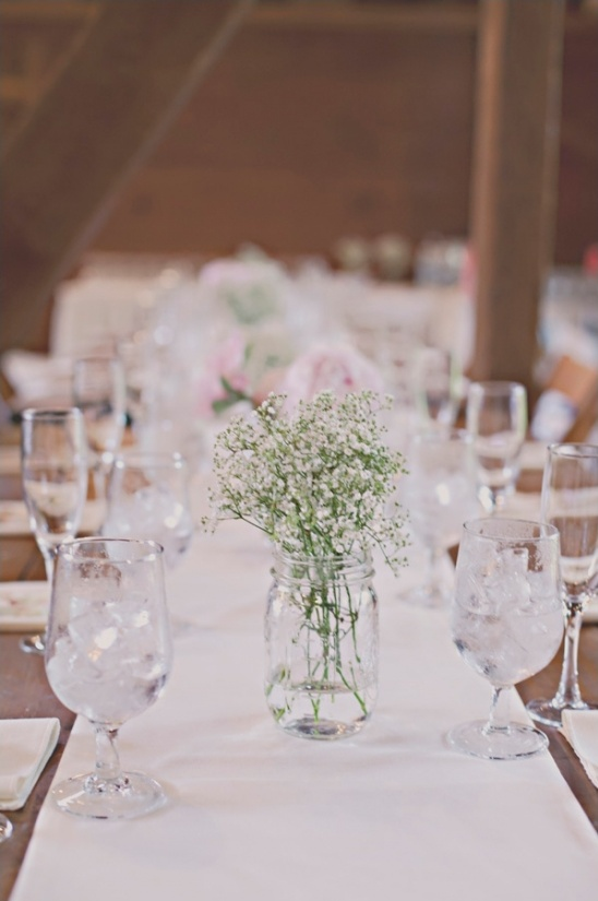 simple rustic table decorations