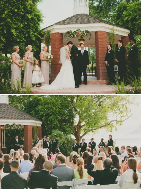 elegant backyard wedding ceremony ideas