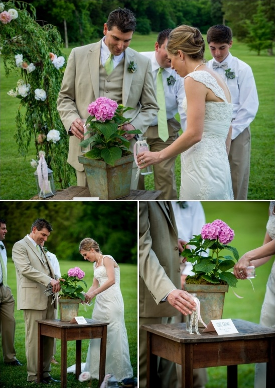plant watering ceremony ideas