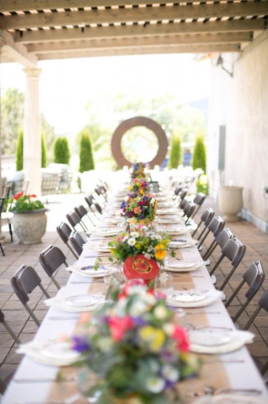 wedding reception at azure cellers
