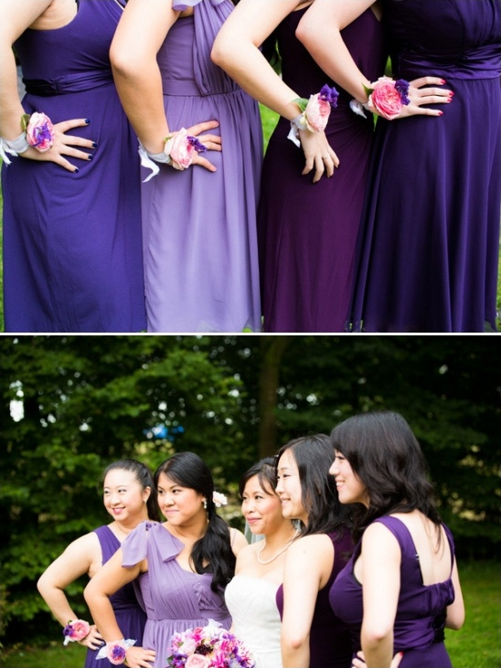 Pink And Purple Wedding In Holland