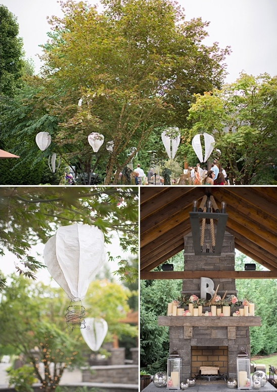 hot air balloon lanterns