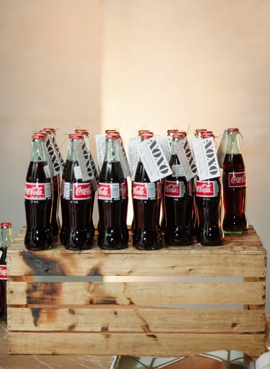 xoxo coke bottle labels