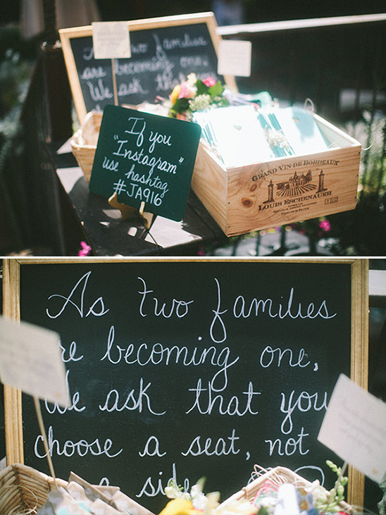 wedding welcome table signs