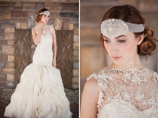 romantic bridal looks from Sareh Nori