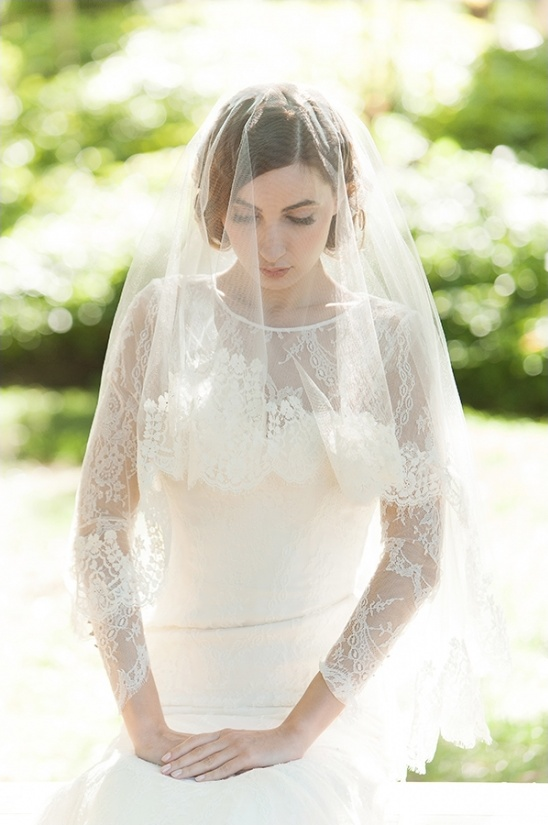 lace sleeved wedding gown from Sareh Nouri
