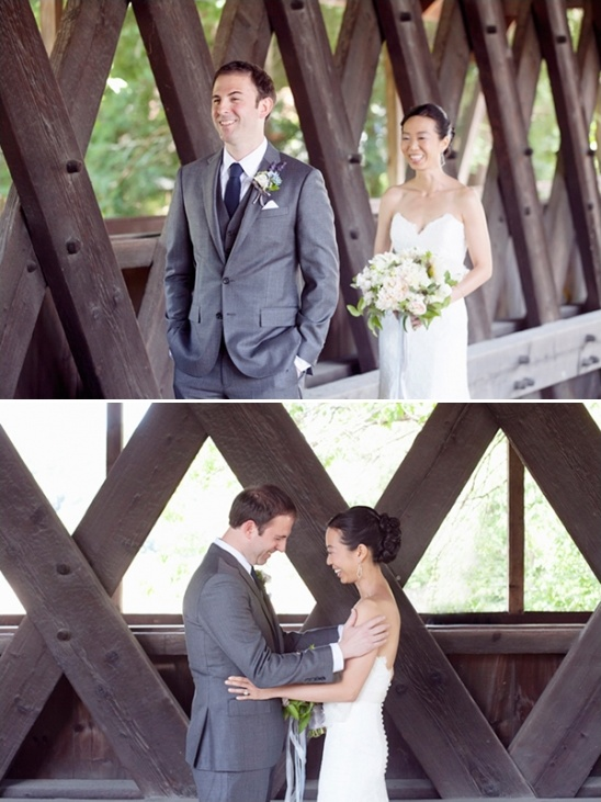 Navy and Gray New England Wedding