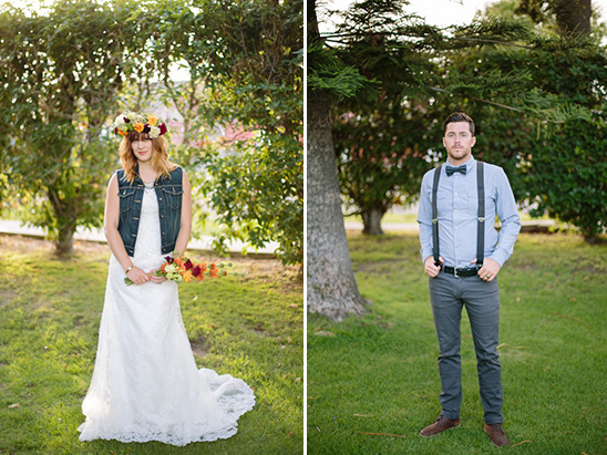 hipster wedding looks