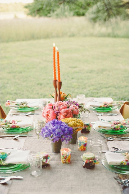 vintage themed bridesmaid luncheon