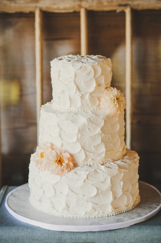rustic white cake by alessi bakery