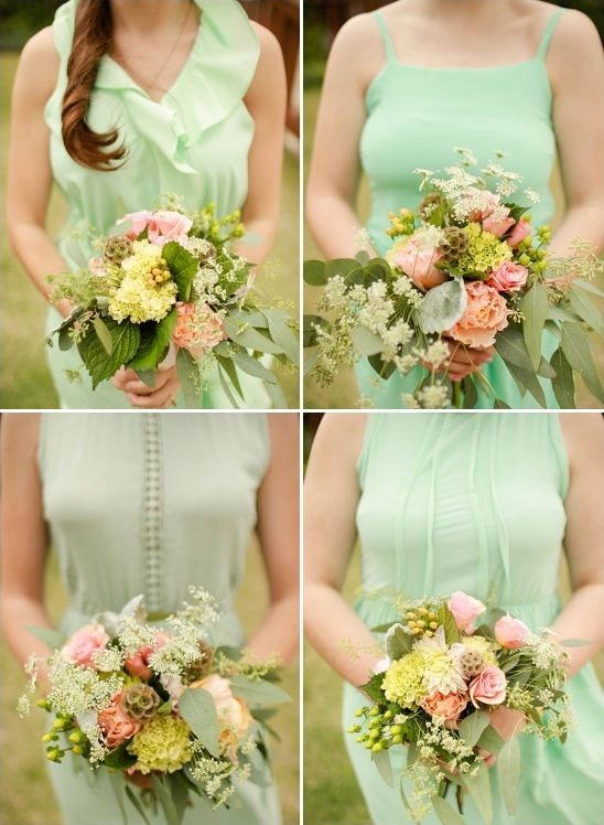 Fresh mint and gold wedding for Mint and gold wedding dress