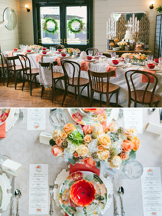 bridal shower luncheon ideas