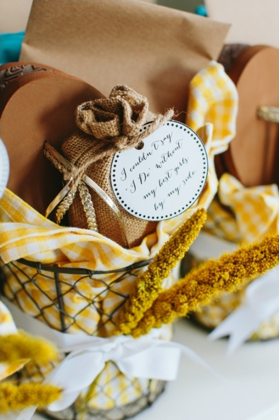 bridesmaid gift package ideas