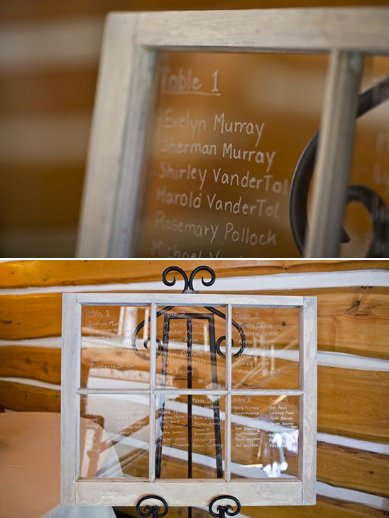 write guests names on a window
