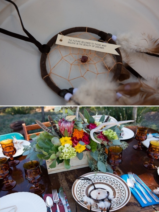 dream catcher wedding favors