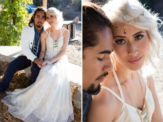 boho chic wedding looks