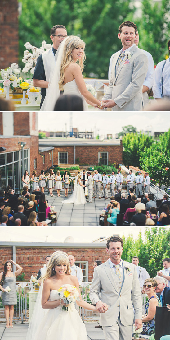 nashville outdoor wedding ceremony
