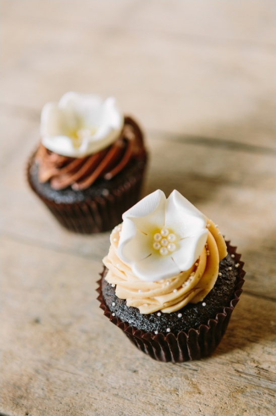 chocolate cupcake by Moustache Baked Goods