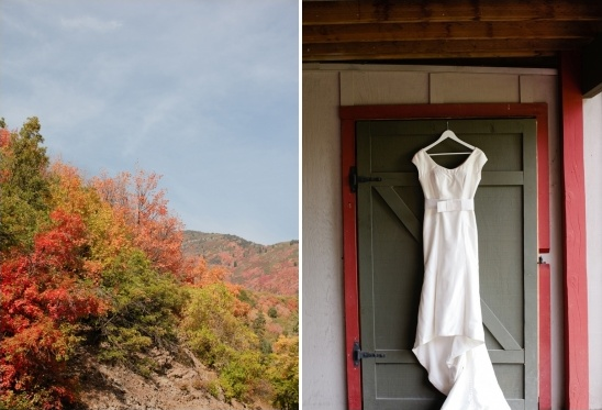 fall Utah wedding