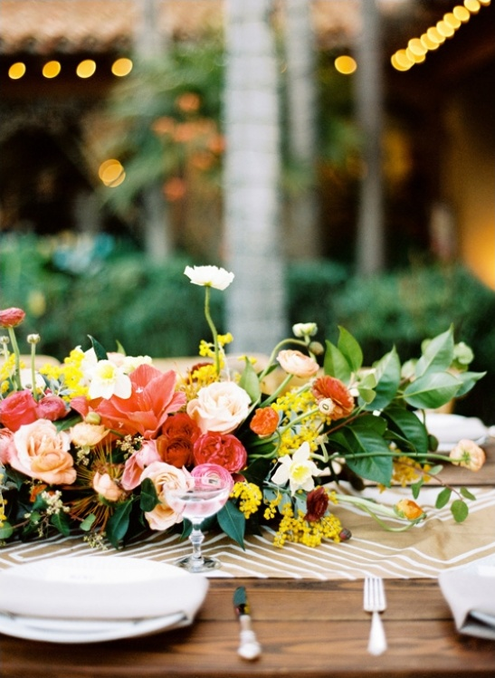 eclectic wedding centerpieces