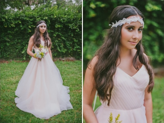 boho chic bridal looks