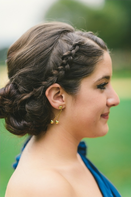braided wedding hair ideas by kc felton
