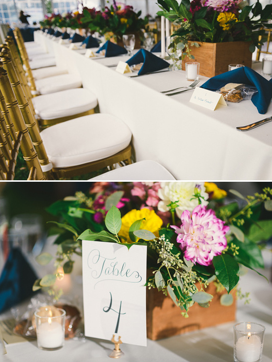 handwritten wedding table numbers