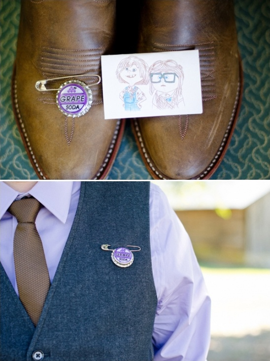 alternative boutonniere from the pixar movie up
