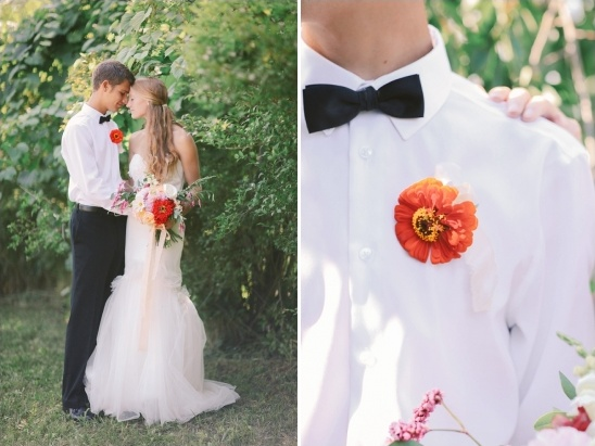 simple looks for the groom